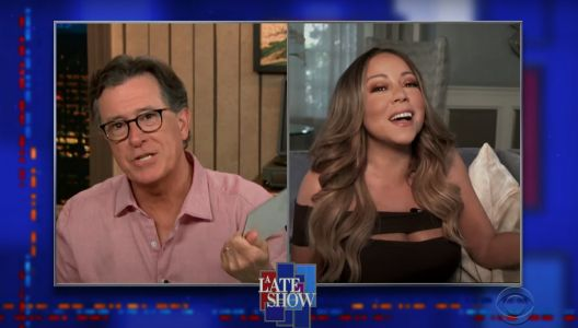 Watch Mariah Carey Tell Stephen Colbert About Her Secret 1995 Grunge Album