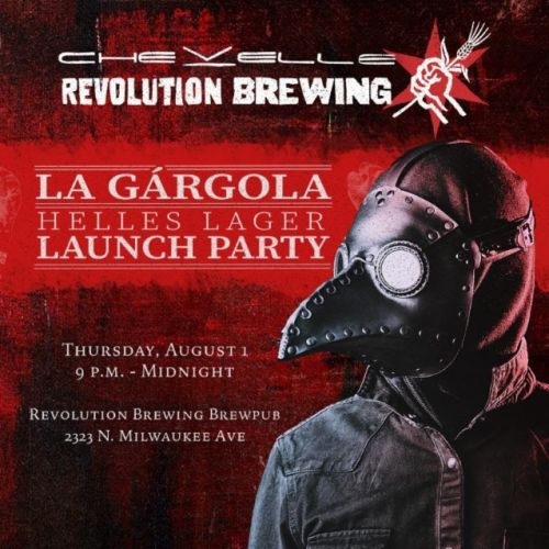 CHEVELLE Announces Craft Beer Collaboration With REVOLUTION BREWING