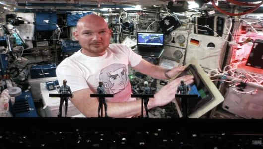 Astronaut Jams With Kraftwerk From Space