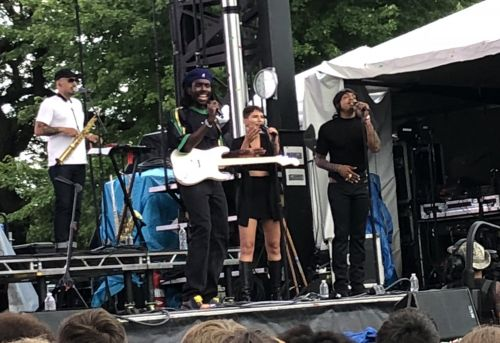 Pitchfork Music Festival: Blood Orange Plays Negro Swan Songs To A Hero's Welcome