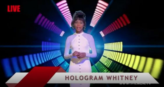 Whitney Houston Hologram Is On The Loose