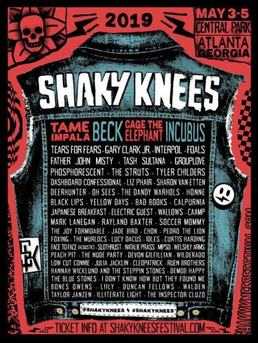 Shaky Knees reveals 2019 lineup: Tame Impala, Beck, Cage the Elephant to headline