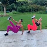 Jeanette Jenkins Makes This Intense 10-Move Bodyweight HIIT Workout Look Fun