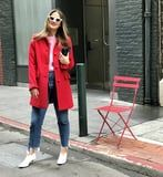 3 Editors Style Gal Meets Glam's New Coat Line, and It'll Get You in the Holiday Spirit