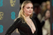 Sophie Turner Chugs Wine on the Jumbotron at a Rangers Game: Watch