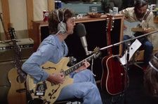 New Studio Footage Surfaces of John Lennon and George Harrison Performing 'How Do You Sleep': Watch