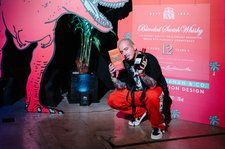 J Balvin Designs Limited-Edition Buchanan's Whisky Bottle: See Photos