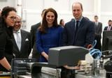 Kate Middleton and Prince William Are Radiant at the Opening of a New Technology Center