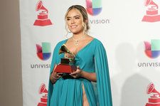 Karol G Talks 2018 Latin Grammys Performance & Anuel AA Friendship: 'Anuel Is All Yours, Ladies'