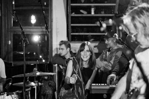 """Watch Broken Social Scene Debut 2 New Songs, Cover """"Total Eclipse Of The Heart"""" On The Strombo Show"""