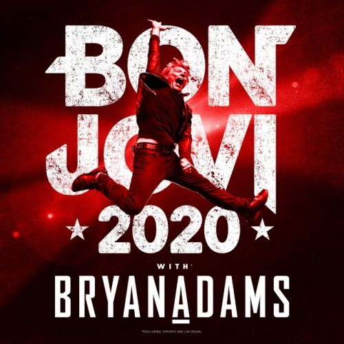 BON JOVI Announces Spring/Summer 2020 Tour With BRYAN ADAMS