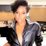 Gabrielle Union Let Her Natural Hair Down, and She's Giving Us Major Janet Jackson Vibes
