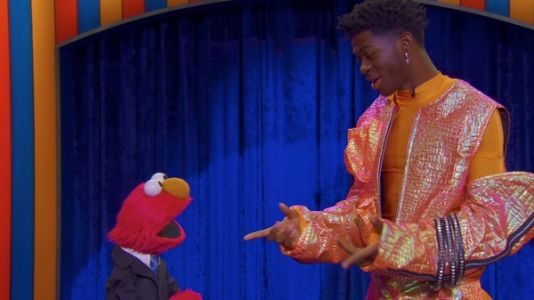 Watch Lil Nas X And Kacey Musgraves Help Elmo Debut A New Talk Show