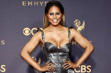 Laverne Cox Takes on 'Level Up' Challenge in Revealing Two-Piece: Watch