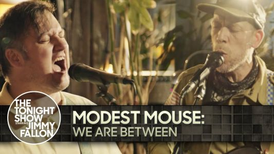 """Watch Modest Mouse Play """"We Are Between"""" Live For The First Time On Fallon"""