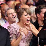 Taylor Swift Had the Best Reaction to Kelly Clarkson Singing Her Hit Song at the BBMAs