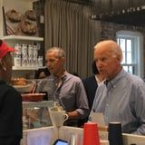 Barack Obama and Joe Biden Reunited For Lunch, and Their Bromance Looks Better Than Ever