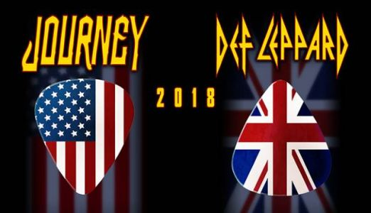DEF LEPPARD And JOURNEY's 2018 Tour Has Already Grossed $50 Million In Ticket Sales