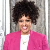 Tia Mowry's Famous Friends Are Swooning Over Her New Blond Hair and Bangs, and So Are We