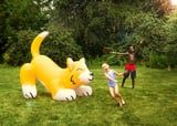 This Giant Corgi Sprinkler Is Over 5 Feet Tall and Shoots Water Out of Its Tail