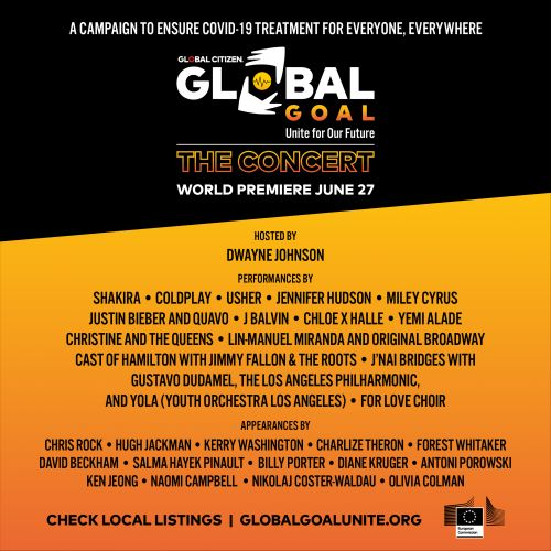 Watch Global Goal: Unite For Our Future Concert Feat. Coldplay, Miley Cyrus, J Balvin, Quavo, & More