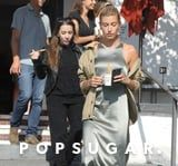 What Do You Wear For Froyo With Your Mother-in-Law? Hailey Baldwin Says a Slip Dress
