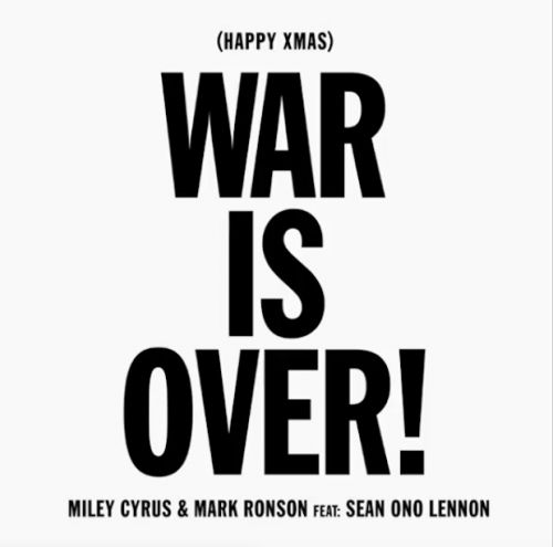 "Miley Cyrus & Mark Ronson - ""Happy Xmas """