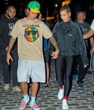 Dude, Hailey Baldwin and Justin Bieber Might Be Onto Something With This Shoe Coordination