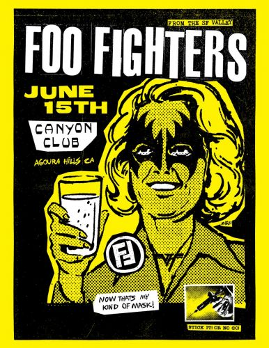 Foo Fighters Announce Club Show In Agoura Hills On Tuesday