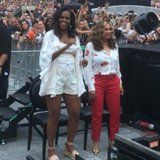 Michelle Obama, an Icon, Dances Like Nobody's Watching at Beyoncé and JAY-Z's Paris Concert