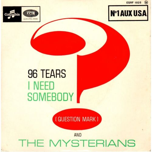 """The Number Ones: ? And The Mysterians' """"96 Tears"""""""