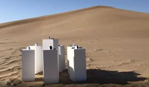 """This Installation In The Desert Will Play Toto's """"Africa"""" On A Loop For Eternity"""