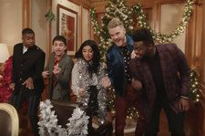 Pentatonix Debut 'Rockin' Around the Christmas Tree' Video Ahead Of Holiday TV Special: Watch