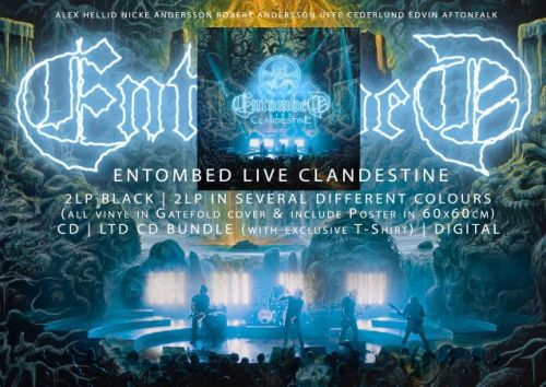 ENTOMBED To Release 'Clandestine - Live' In May