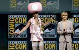In a World Full of Suits and Skirts, Be Like Ezra Miller in Toadette Cosplay at Comic-Con