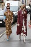 Victoria Beckham Wore the Most Daring Mix of Colors to Hang Out With Anna Wintour