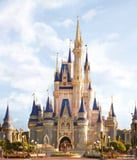 Disney World Debuts the New Cinderella's Castle With Blush-Pink Paint and Gold Trim