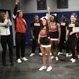 SNL's Navarro Cheer Parody Includes Lots of Absurd Injuries - 'Til Halsey Saves the Day!