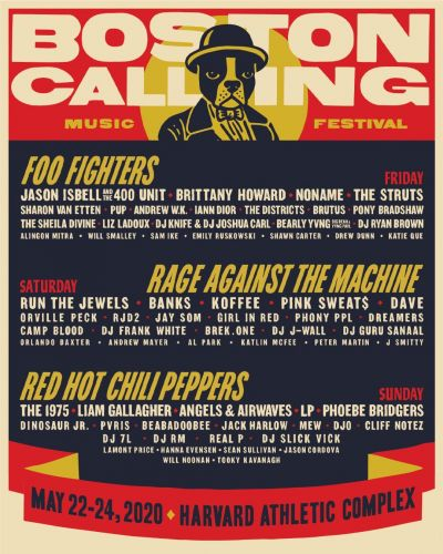 Boston Calling reveals 2020 lineup led by Rage Against the Machine, Foo Fighters & Red Hot Chili Peppers