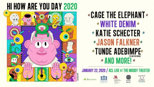 Cage the Elephant, Tunde Adebimpe, and more to play Daniel Johnston tribute concert in Austin
