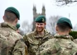 Prince Harry Might Be in Camouflage at This Military Event, but You Can't Miss His Smile