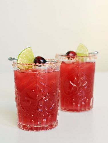This Cranberry Margarita Makes a Pretty Perfect Fall Cocktail