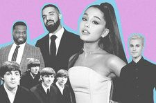 Ariana Grande, The Beatles & Every Act to Chart 3 Songs in the Hot 100 Top 5 Simultaneously