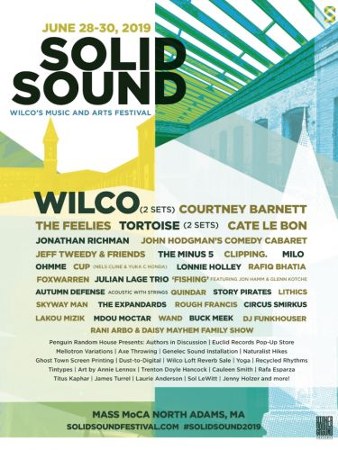Wilco reveal lineup for Solid Sound Festival 2019