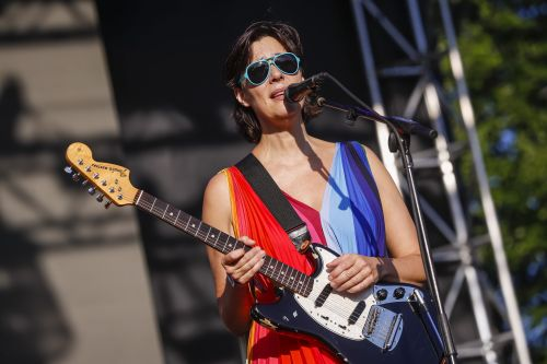 Stereolab Brought Revved-Up Vintage Euro Chic To Pitchfork Music Festival