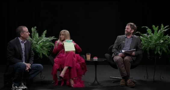 Watch Cardi B & Jerry Seinfeld On Between Two Ferns With Zach Galifianakis