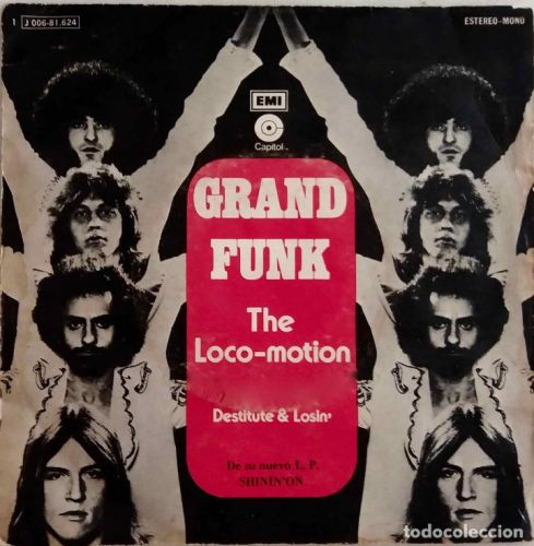"The Number Ones: Grand Funk's ""The Loco-Motion"""