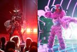 Hmm, We Suspect The Masked Singer's Flamingo and Black Widow Go WAY Back