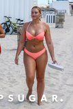 Iskra Lawrence's Sexy Pink Bikini Is Hotter Than the Miami Sun