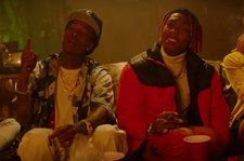 Tyla Yaweh Smokes With Wiz Khalifa, Rides Shotgun With Green Day's Billie Joe in 'High Right Now ' Video
